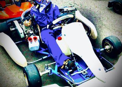 Picture of Rafael Gwizdak in go-kart